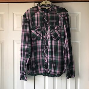 H&M light weight flannel style  button down